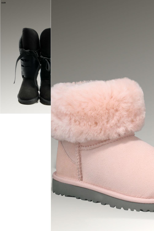 bottes de neige style ugg