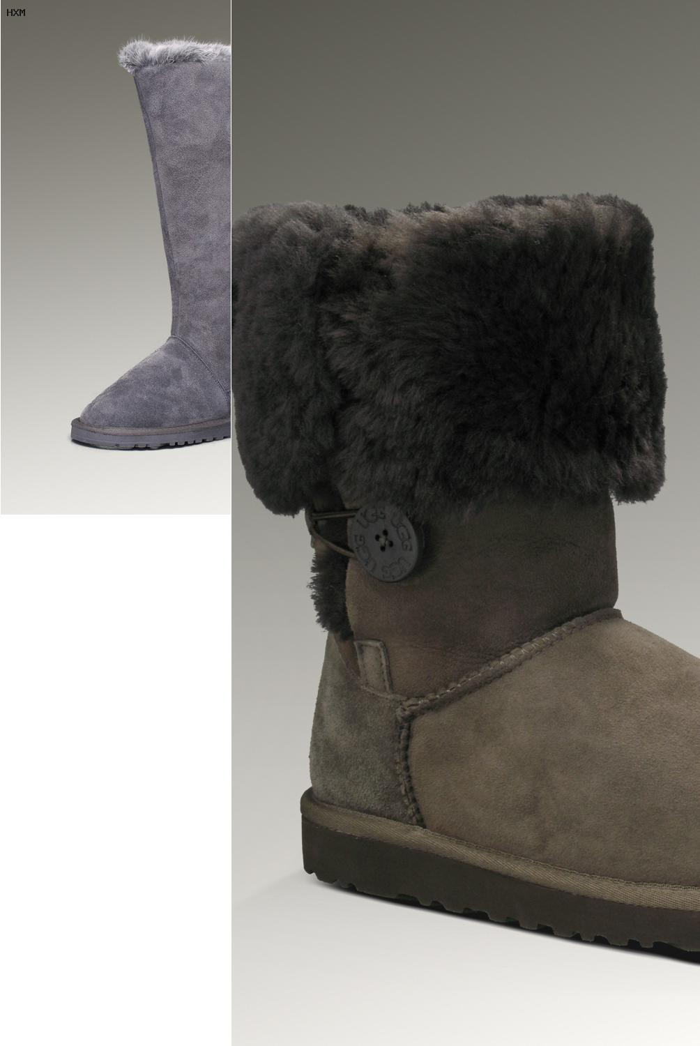 chausson ugg femme pas cher