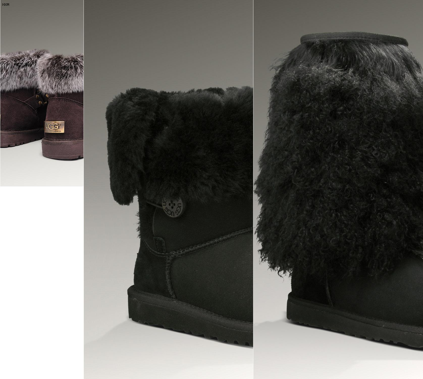 gant ugg noir femme